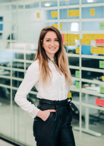 Agni Andreopoulou, Head of Product Ops at Beat, Sanja Ilic, COO is one of the women behind the Beat technology excellence