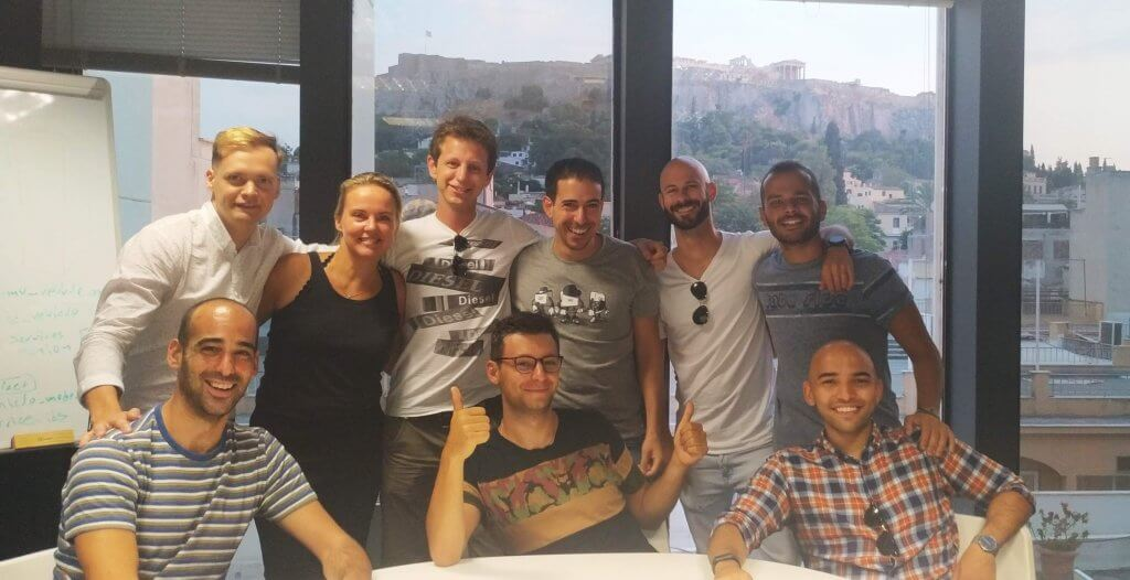 The first members of the Beat Amsterdam Team visited Athens for their induction.